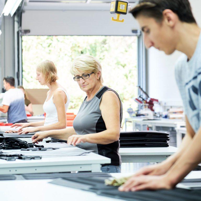 A&R Textil: Produktion